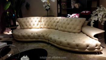 Best Special Nubuck Leather Made Sofa With Design