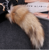 Wholesale Faux Pom Pom With Key Chain / High Quality Real Fur / Fox Tail Wholesale