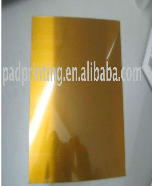 cheaper T Hot foil stamping polymer plate with steel pase