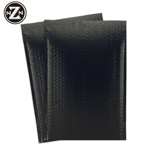 black mailer bubble bag air shipping express bags padded plastic mailing bag custom courier envelopes