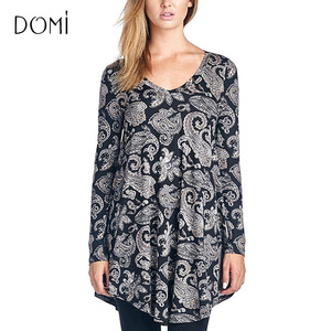 7bd8d880edd Autumn Casual Wear For Ladies Fashion Tops Long Sleeve Knit Tunics Top