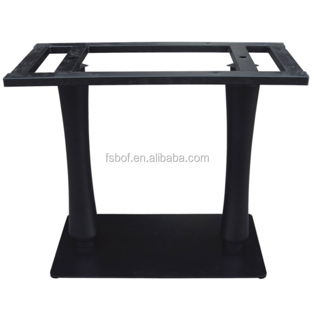Cheap Furniture Fittings Dining Table Wooden Bases For Glass Tops Glass  Coffee Table Base QE59