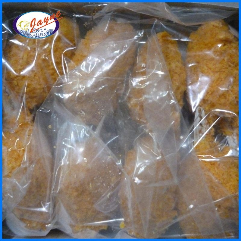 Wholesale surimi content 42% brown breaded crab claw with good taste