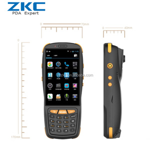 Android5.1 rugged qr scanner pda with 4g wifi nfc rfid
