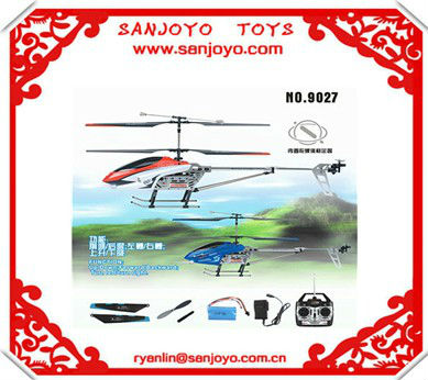 DF-9027-1 toy army helicopter 3 channel rc helicopter with gyro hotseller!!