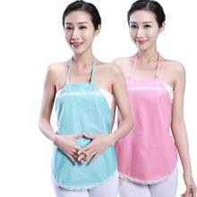 Pregnant Women metal fiber anti radiation protection vest maternity short tank