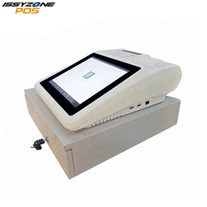 "12"" Touch Screen POS Cash Register LED True Flat Capacitive All in One"