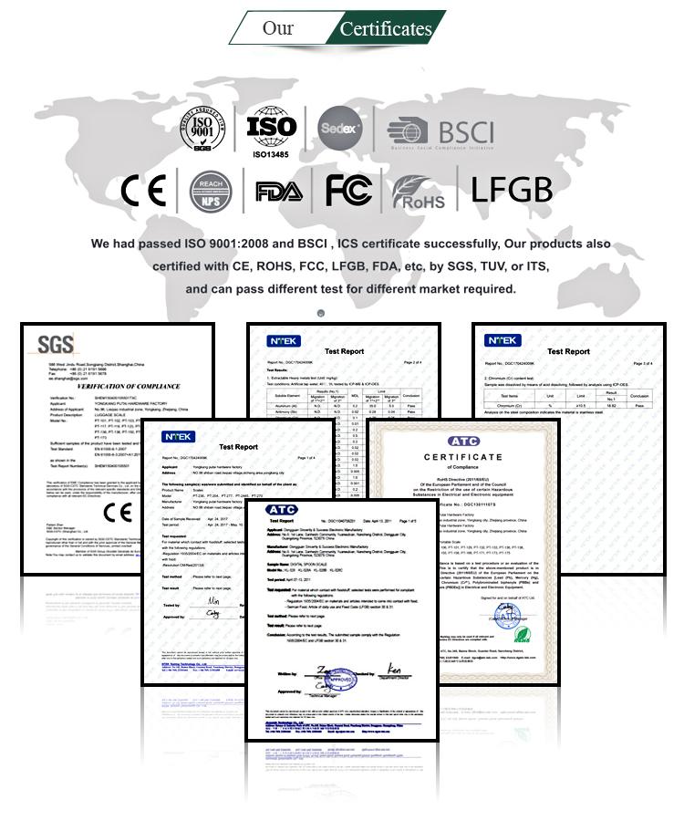 2000g מגירת סוג נסתרת LCD תכשיטי קיבולת גבוהה בקנה מידה PT-307