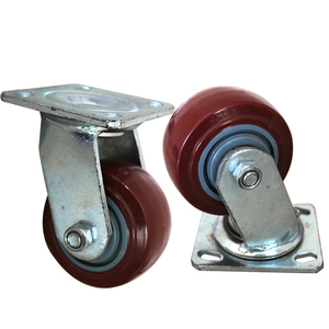 Biao casters supply orange swivel economy inverted cargo casters