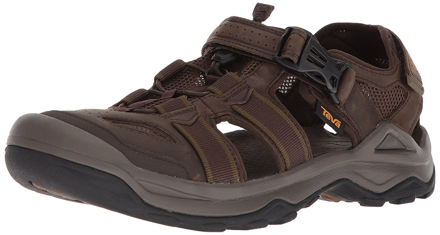 28cc8b572a5a01 Get Quotations · Teva Mens Men s M Omnium 2 Leather Fisherman Sandal
