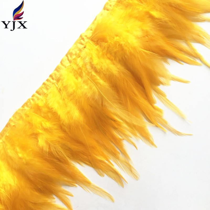China supplier plume 4-6inch rooster saddle hackle feather trim