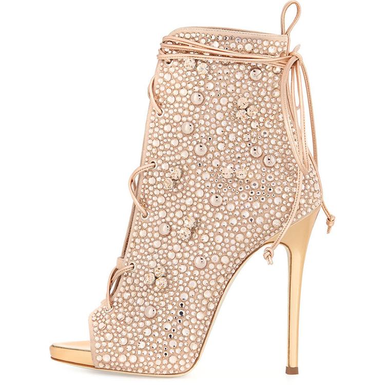 f5571df1e95 Diamond High Heel Sandals