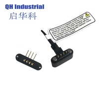 China Factory 4pin 2.54Pitch Male and Female Charger Magnetic Pogo Pin Power Connector for Charger