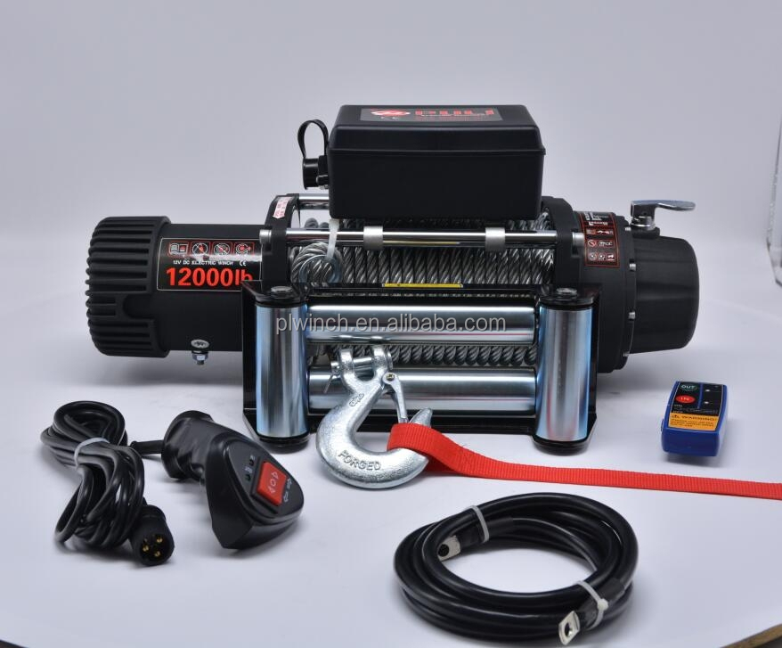 4x4 winch accessories 12000lb off road electric winch DC 12v/24v
