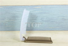 New arrival pressing hotel comb with foldable opener comb
