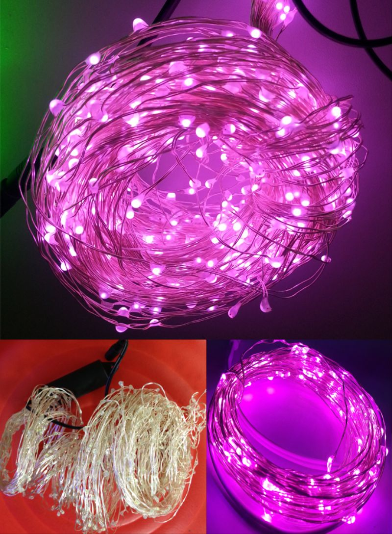 Led String Lights Round : 5mm Round Pink Led String Lights Ab096 - Buy Pink Led String Lights Ab096,Pink Paracord,5mm ...