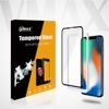 Screen protector for iphone X, full cover 9H anti shock Tempered glass screen protector for iphone X