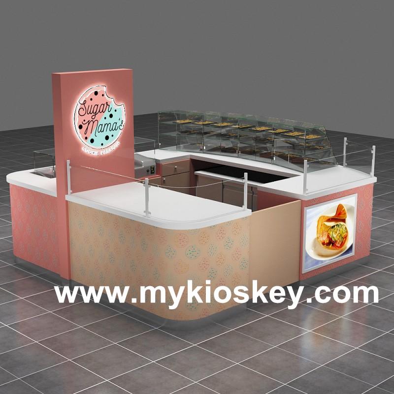 mall cupcake kiosk