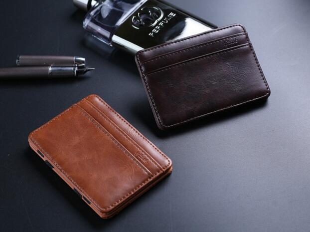 Ebay Aliexpress Amazon best-selling magic money clip pu leather wallet for wholesale