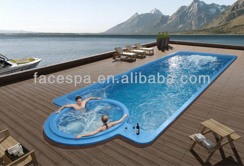 Endless pool Liquid Acrylic Swimming Pool FS-P12 12 meter long, View  swimming spa, FSPA / MEXDA Product Details from Foshan Gaoming Yuehua  Sanitary ...