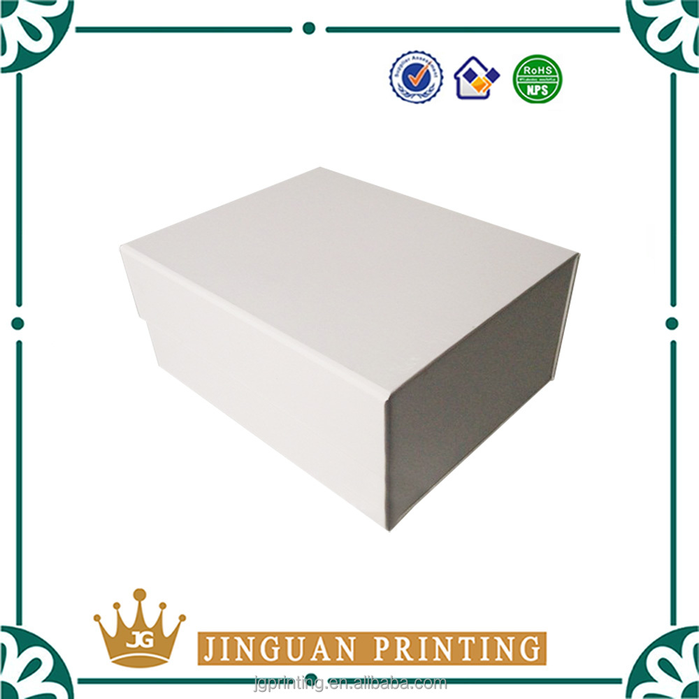 Printing customized cardboard packaging foldable luxury magnet box