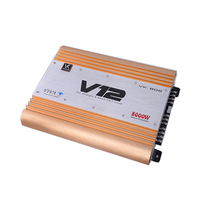 Guangzhou manufacturer competitive price V12 Amplifier high quality High Power car amplifier