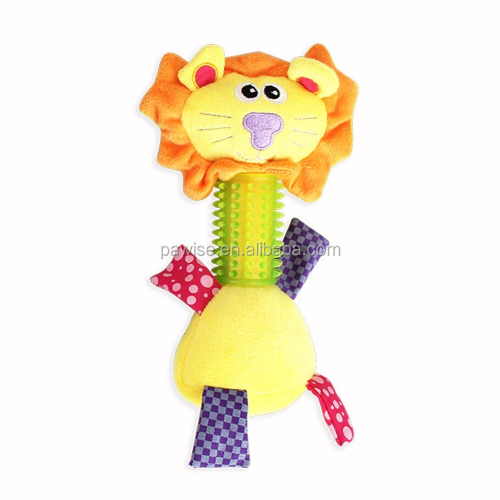 DOG TPR TOY - FACE LION-BEST PRICE