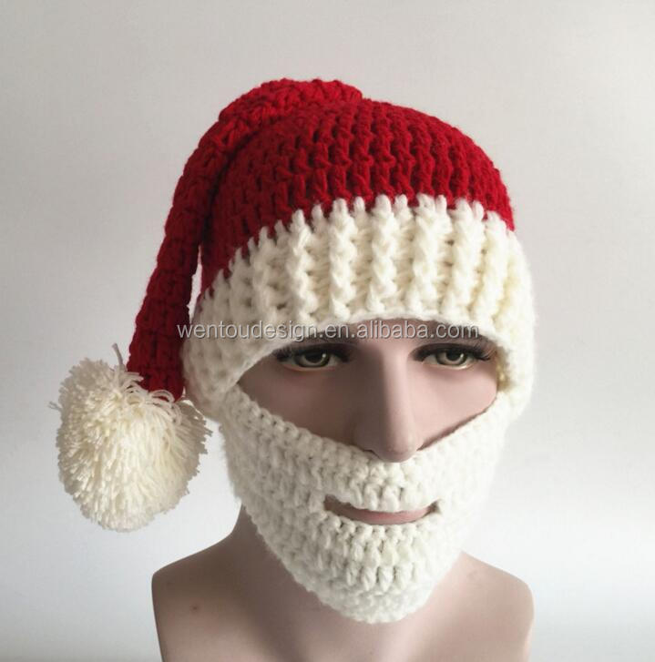 New Arrival Santa Beard Hat Wholesale
