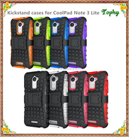 Waterproof & dustproof & shockproof mobile phone case/ cell phone cover/ hard back shell for coolpad note 3 Lite