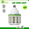 40w LED corn cob light UL listed up and down lighting shorter length higher lumen efficiency 120-130lm/w