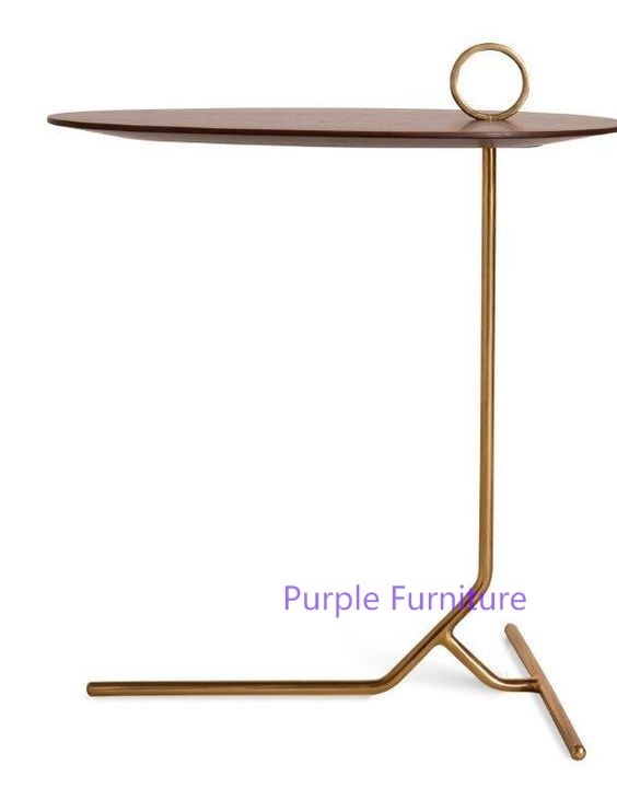 Customized Muse Marble U0026 Copper Hexagon Nesting Tables