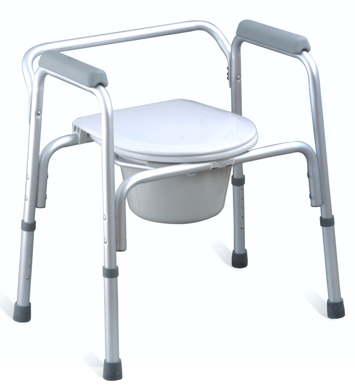 folding drop-arm commode chair,adjustable commode chair,deluxe ...