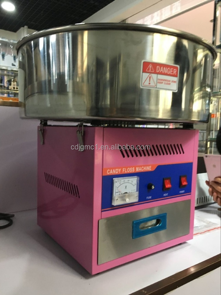 Electric 900w Cotton Candy Gloss Machine For Making Cotton Candy