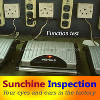 Sandwich Maker Pre-Shipment Inspection Service / Clear and Documented QC Report / Product Quality Assurance