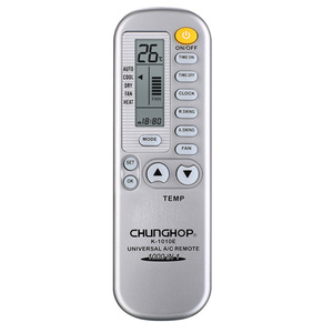 CHUNGHOP K-1010E Universal 1000 in 1 12 Keys A/C Remote Controller for Air  Conditioner With Retail Blister Packing High Quality