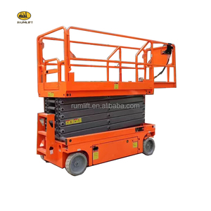 jlg hydraulic scissor lift CE ISO SGS from china