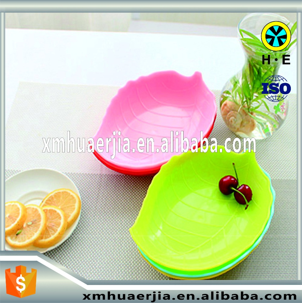 Candy box with leaf shape storage container dried fruit melon seeds fruit plate Nuts Storage Boxes & Bins