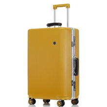 Aluminium Frame ABS + PC <span class=keywords><strong>Bagage</strong></span> Set trolley case groothandel stravel koffer