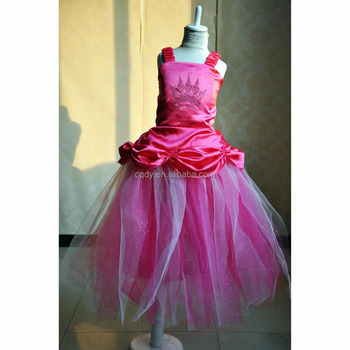 New Coming Hello Kitty Pink Prom Tulle Dress For Kids Girl,Latest ...