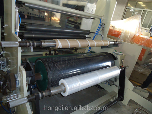 double layer co-extrusion pallet stretch cling film Cast film machine