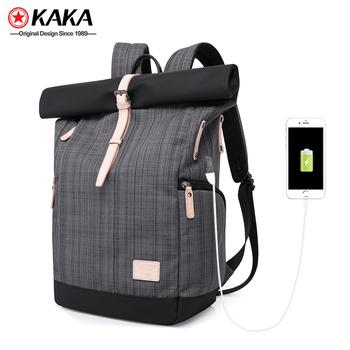 3da474df3d 2018 kaka promotional vintage custom bagpack waterproof stylish travel bags  men school backpack bag