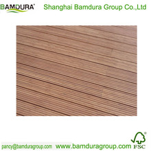 solid high carbonized outdoor bamboo flooring