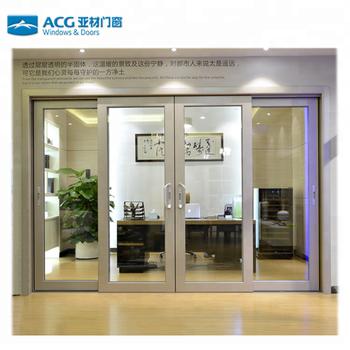 Soundproof Interior Aluminum Glass Sliding Doors Buy Glass Sliding