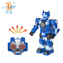 New Style Multifunctional Robot Kids Remote Control RC Flying Fighting Robot Toy Plastic Deformation Robot Toys
