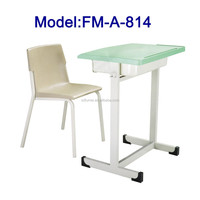 No.FM-A-814 High school desk and chair