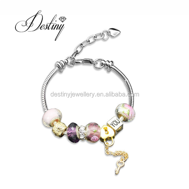 Jewellery Colorful Charm Bracelet Beads
