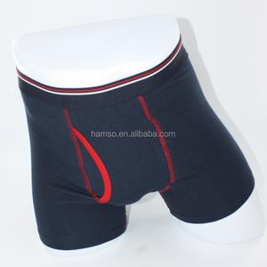 cotton navy blue men underwear boxer