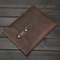 Leather Laptop Sleeve Envelop Case for Apple MacBook 13