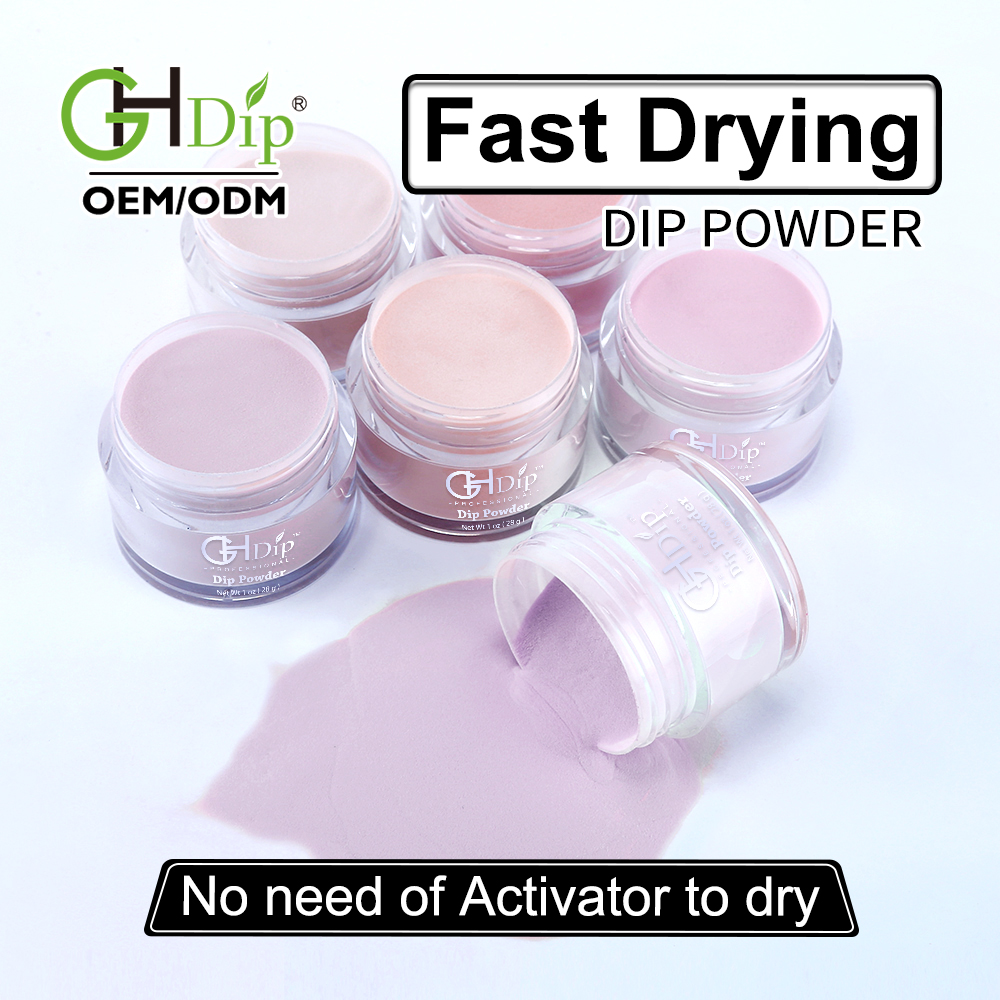 Organic Acrylic Nail Dipping Powder Nude Color for ombre nails фото