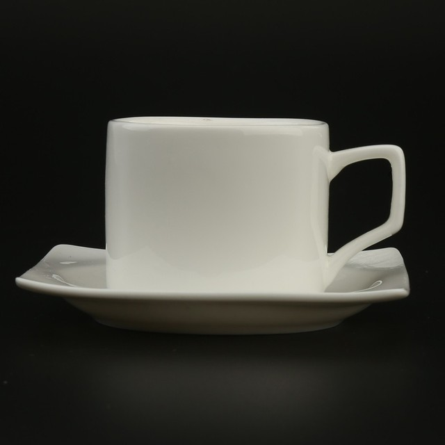 250cc Coffee Tea Cups and Saucers Sets Ceramic Porcelain Fine Bone China Wholesale